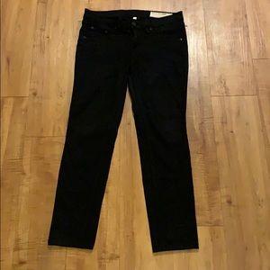 Black RAG & BONE jeans Jean Ankle Leggings 26